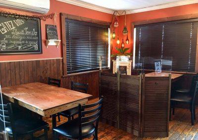 Terrasse Chez Donat - salle à manger - St-Jean-de-Matha, Lanaudière